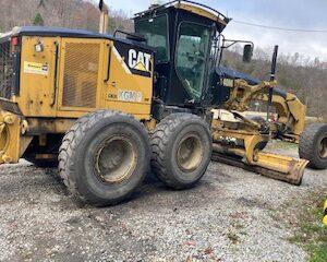 CAT 140M ROAD GRADER